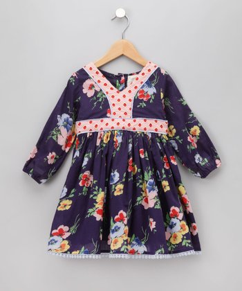 Cupcakes & Pastries Blue Cinnamon Apple Dress