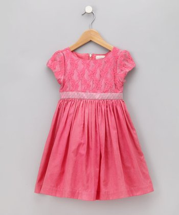Cupcakes & Pastries Pink Cherry Dress