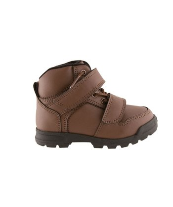Brown Dio Mid Shoe - Toddler