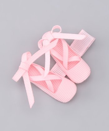 Light Pink Ballet Shoes Clip