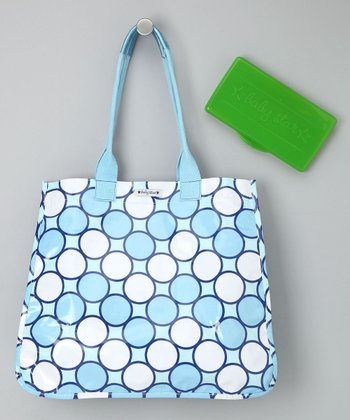Blue Tag Tote & Wipes Case