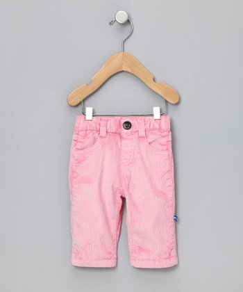 Lotus Distressed Corduroy Pants - Infant