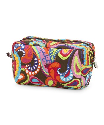 Paisley Pizzazz Quilted Cosmetic Bag