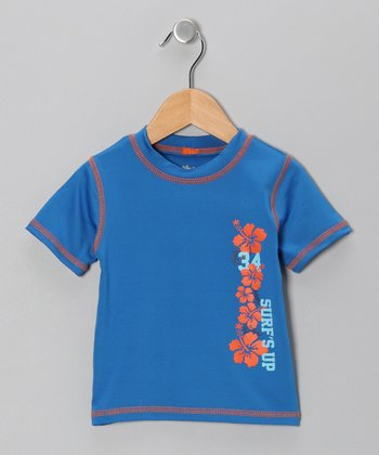 Royal Hibiscus Rashguard - Boys
