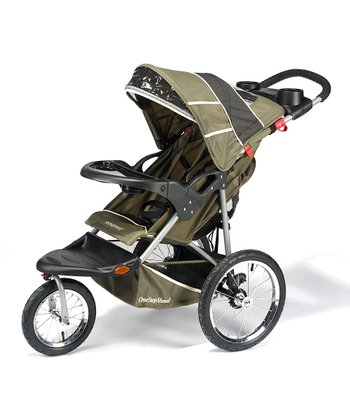 One Step Ahead - Green Expedition Jogging Stroller