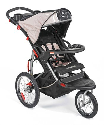 Black Expedition Jogging Stroller