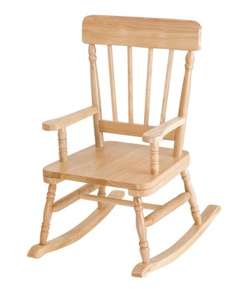 Oak Finish Classic Rocker