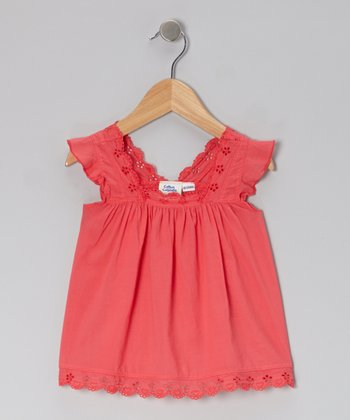 Lipstick Eyelet Tunic - Infant, Toddler & Girls