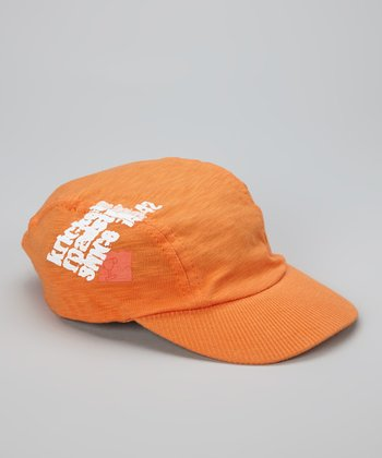 Orange Krickets Roadster Baseball Cap