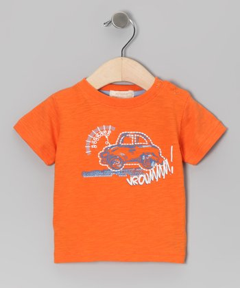 Orange Krickets Roadster Tee - Infant