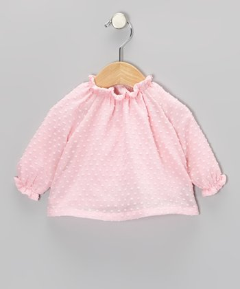 Pink Swiss Tunic - Infant & Girls