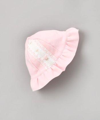 Pink Smocked Sunhat