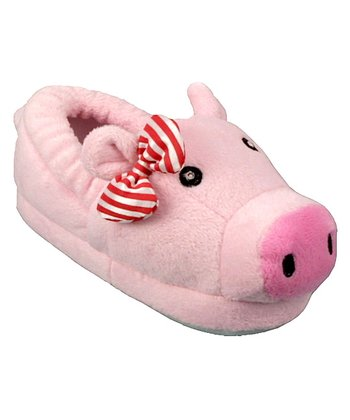 Pink Pig Light-Up & Sound Slipper - Kids