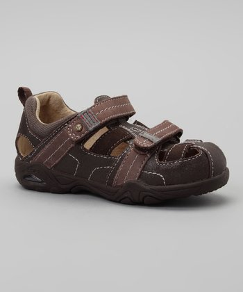 Brown SRT PS Andy Closed-Toe Sandal