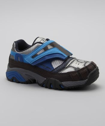 Silver & Blue Light-Up Jango Fett Sneaker