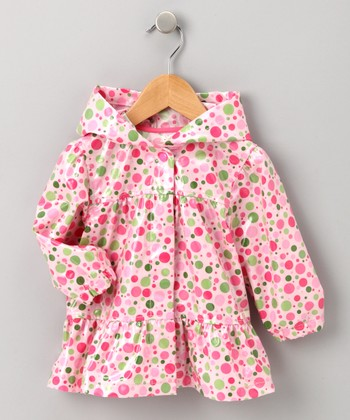 Candy Dot Raincoat - Infant, Toddler & Girls