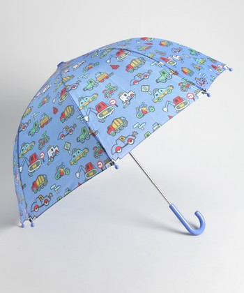 Blue Truck Umbrella