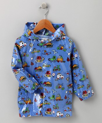 Blue Truck Raincoat - Infant, Toddler & Kids