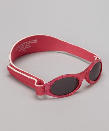 Red Damask Full-Band Sunglasses - Kids