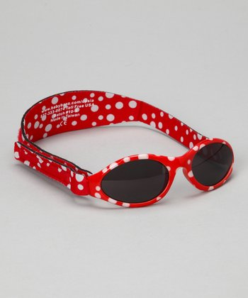 Red Polka Dot Adventure Sunglasses