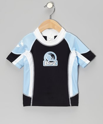Blue & Black Rashguard - Infant, Toddler & Kids