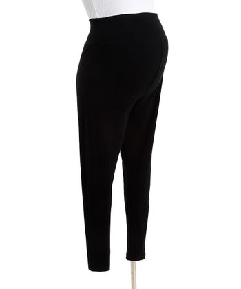 CT Maternity - Black Maternity Leggings M