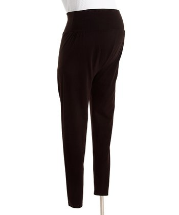 CT Maternity - Brown Maternity Leggings M