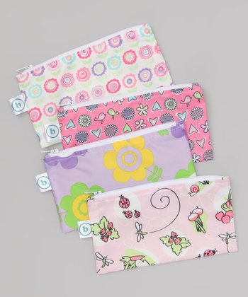 Pink Small Snack Bag Set