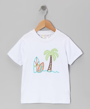 White Surf's Up Tee - Infant & Boys
