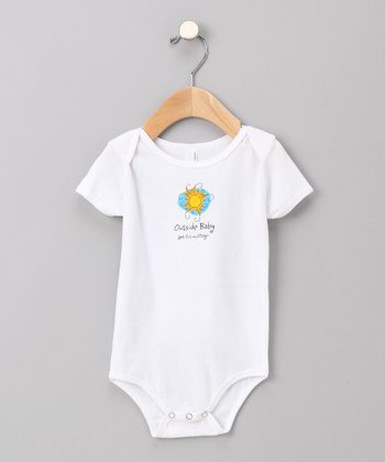 White Sun Bodysuit - Infant