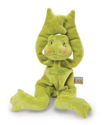 Green Tadbit's Silly Bug Buddy Plush Toy