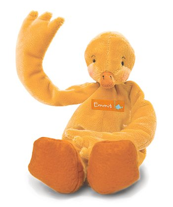Orange Emmit's Silly Buddy Plush Toy