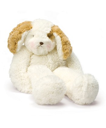 Tan & White Floppy Skipit Plush Toy
