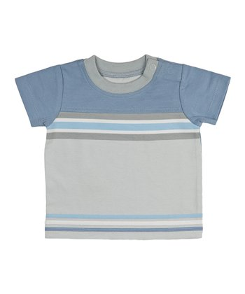 Blue Stripe Voyager Top - Infant