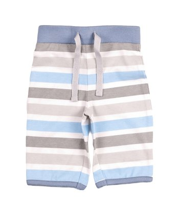 Blue & White Stripe Pants - Infant & Toddler