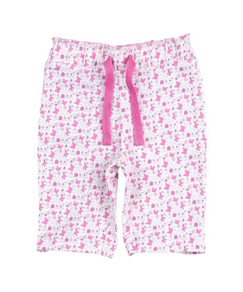 Pink Butterfly Pants - Infant & Toddler