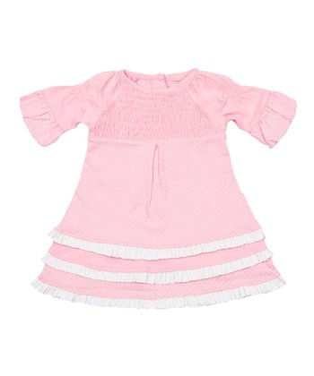 Candy Pink Polka Dot Freya Dress - Infant & Toddler