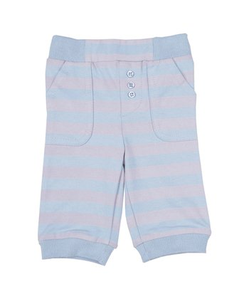 Periwinkle & Pebble Comfy Pants
