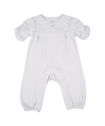 Silver Pretty Ditsy Romper - Infant