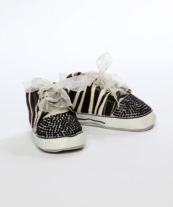 One Ruby Lane - Zebra Lil Tiff Sneaker
