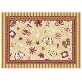Butterfly Ballerina Rug - Available in 2 sizes