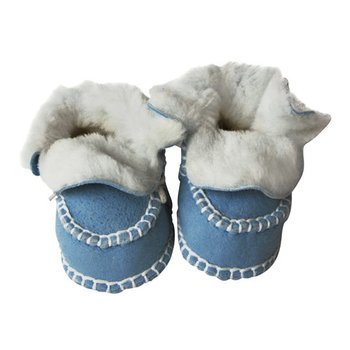 Baby Blue Booties - Infant