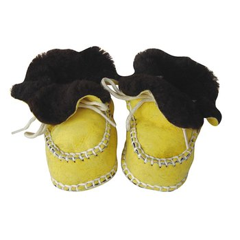 Yellow Booties - Infant