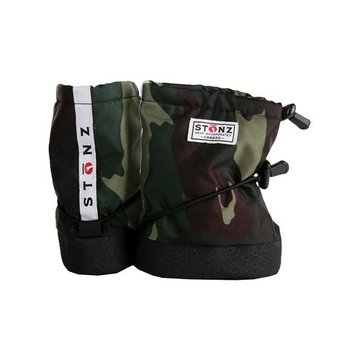 Green Camouflage Stonz Booties  - Infant