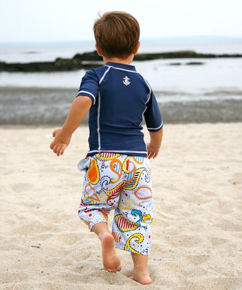 Paisley Swim Set - Infant, Toddler & Boys