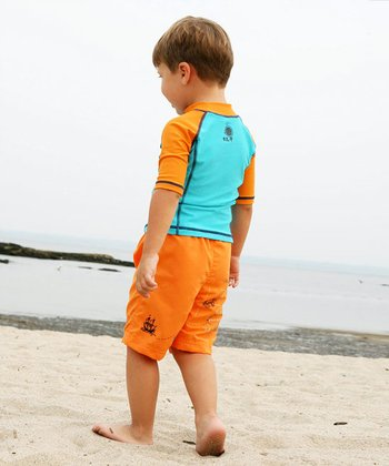 Map Swim Set - Infant, Toddler & Boys