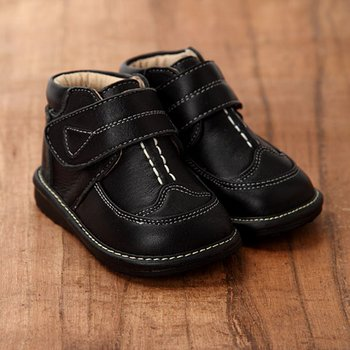 Black Booties - Toddler