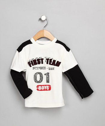 First Team Long-Sleeve Shirt - Infant, Toddler & Boys
