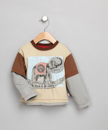 Elephant Long-Sleeve Shirt - Toddler & Boys