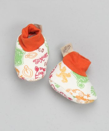 Printed Booties - Infant